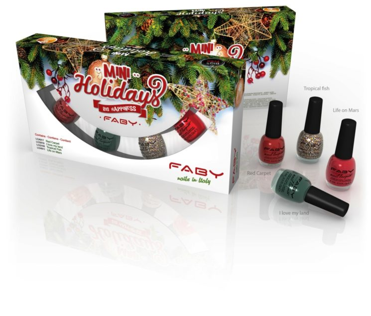 Natale glamour con l'Holiday Kit di Faby
