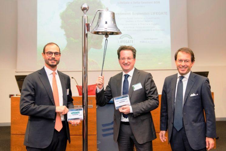 LifeGate e Sella Gestioni SGR presentano il primo fondo d'investimento a impatto quotato in Borsa