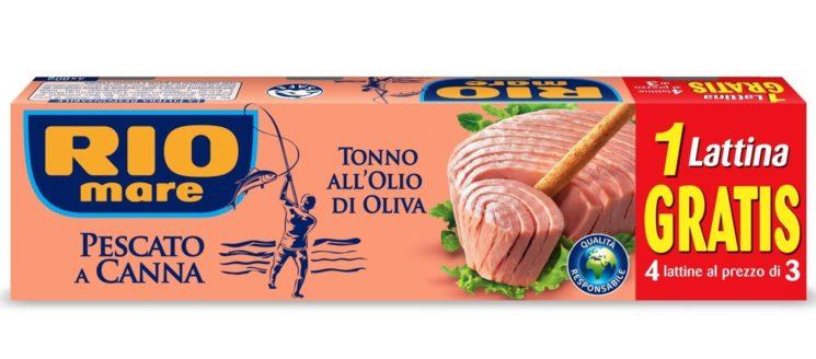 Pesca sostenibile: i consumatori di Rio Mare scelgono il pescato a canna