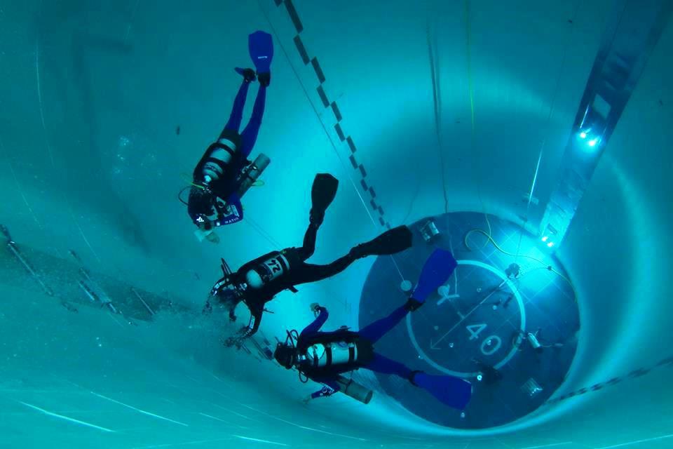 Y 40 open lab 10 ore di immersione nella piscina pi for Y 40 piscina
