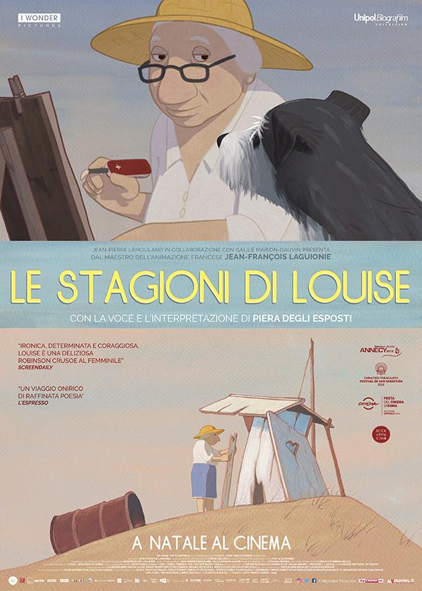 """""""Le stagioni di Louise"""", un film d'animazione intenso e poetico"""