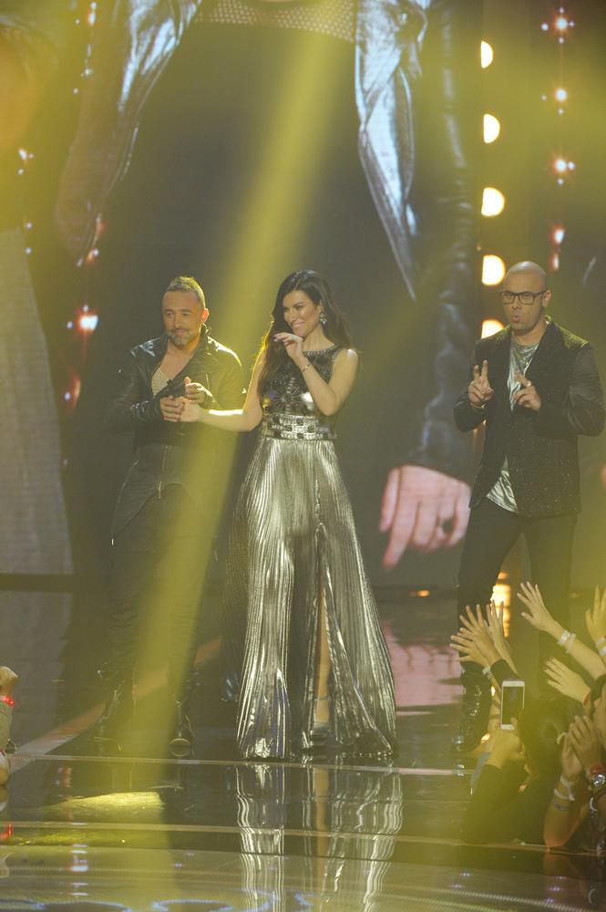 """Laura Pausini sceglie lo stilista Ettore Bilotta per la finale di """"La banda"""""""