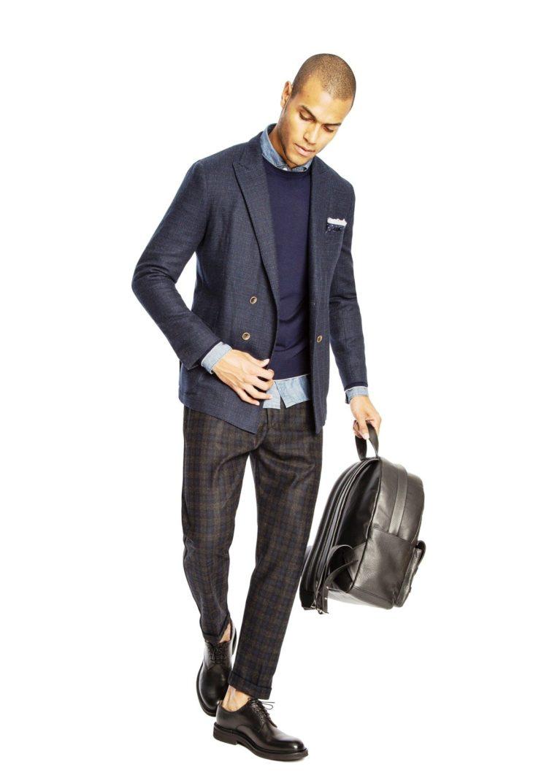 Collezione Uomo A/I 2017-18: il nuovo vestire formale, soft e casual di Eleventy