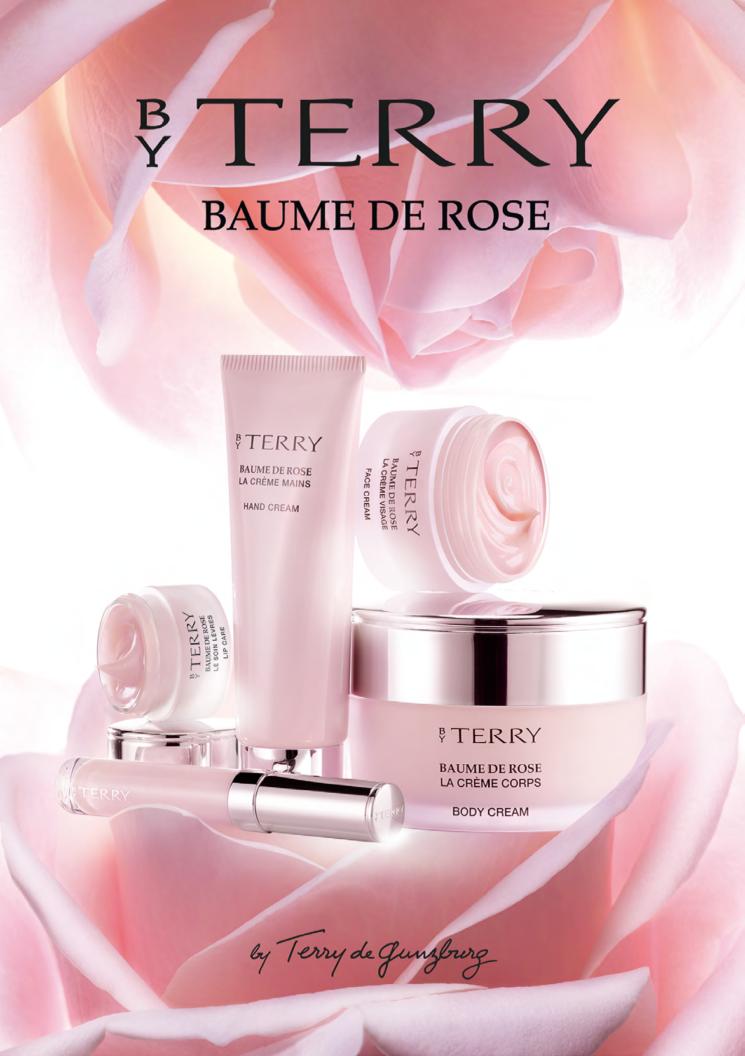 Il super-potere delle rose nella nuova linea Baume de Rose By Terry