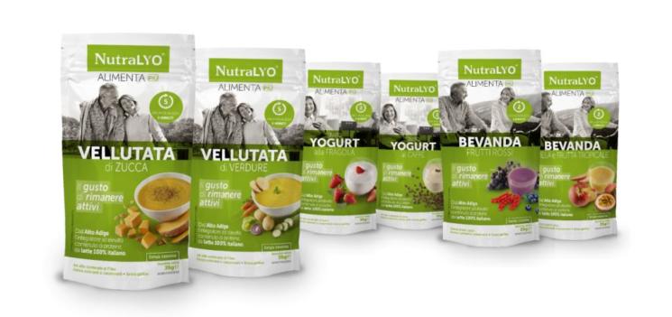 Più attivi con NutraLYO® Alimenta Più di LB LYOpharm