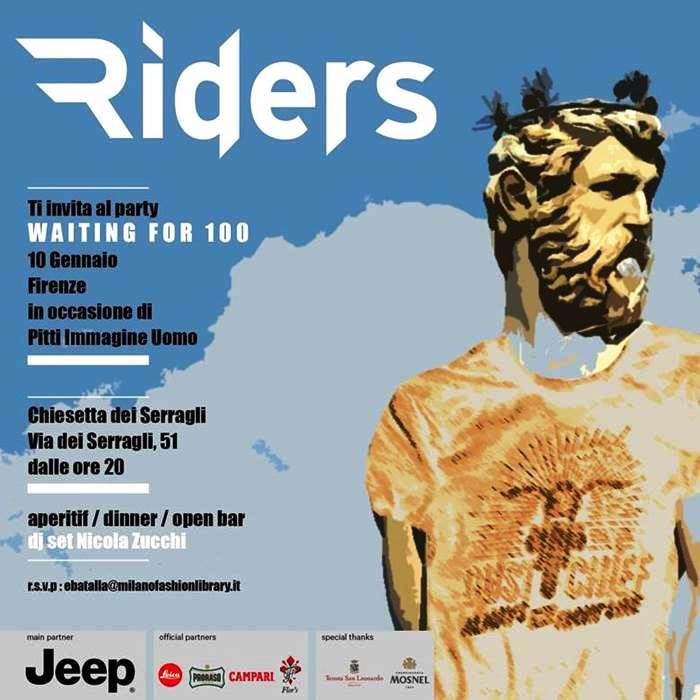 91° Pitti Immagine Uomo: Proraso festeggia con Riders