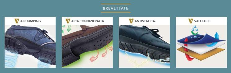 Valleverde: quattro brevetti esclusivi