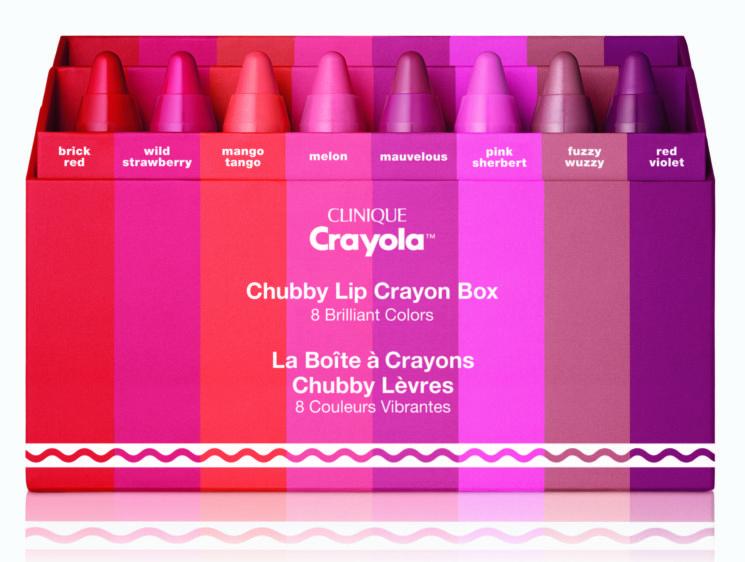 Clinique e Crayola insieme per dare vita a nuovi colori