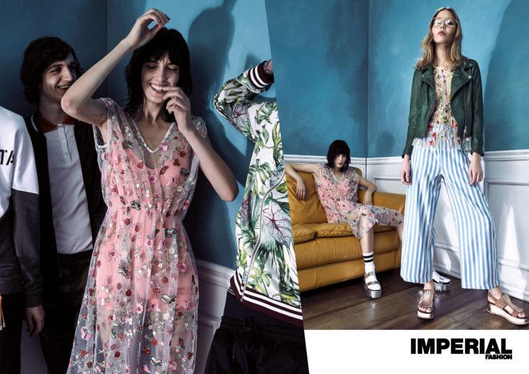 Imperial Fashion: nuova campagna adv P/E 2017 tra grunge anni '90 e contemporaneità