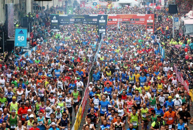 Al via il 2 aprile la XVII edizione di EA7 Emporio Armani Milano Marathon