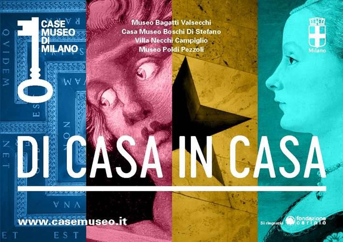 """""""DI CASA IN CASA"""", QUATTRO CASE MUSEO PER UNA CITTÀ"""