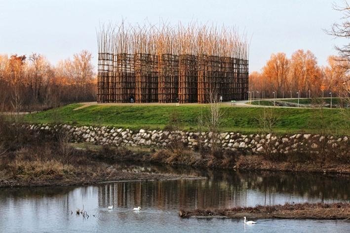 La Cattedrale Vegetale, un'opera di Giuliano Mauri a Lodi