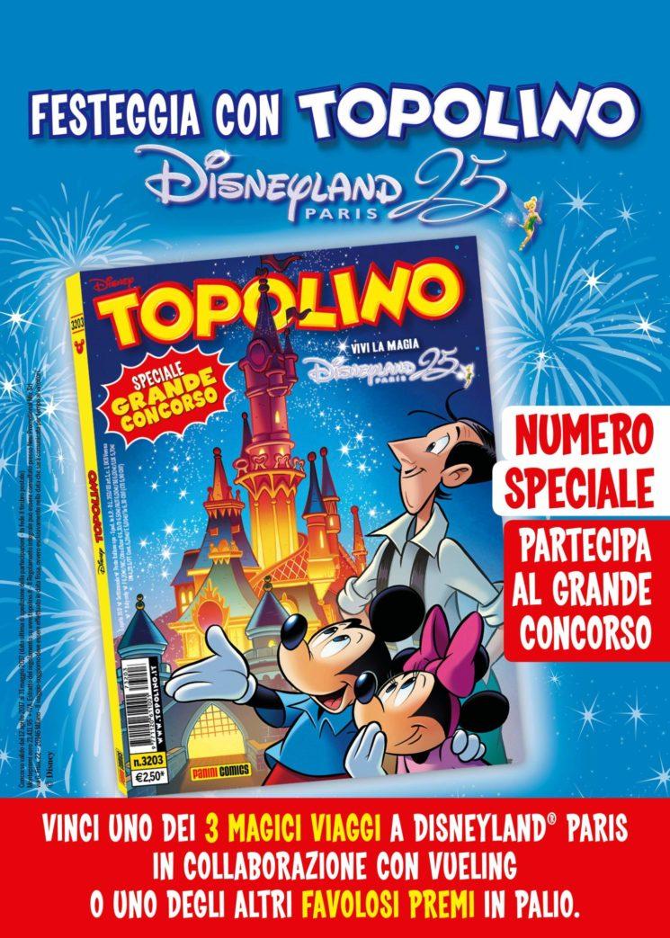 Il settimanale Topolino festeggia il 25° Anniversario di Disneyland Paris