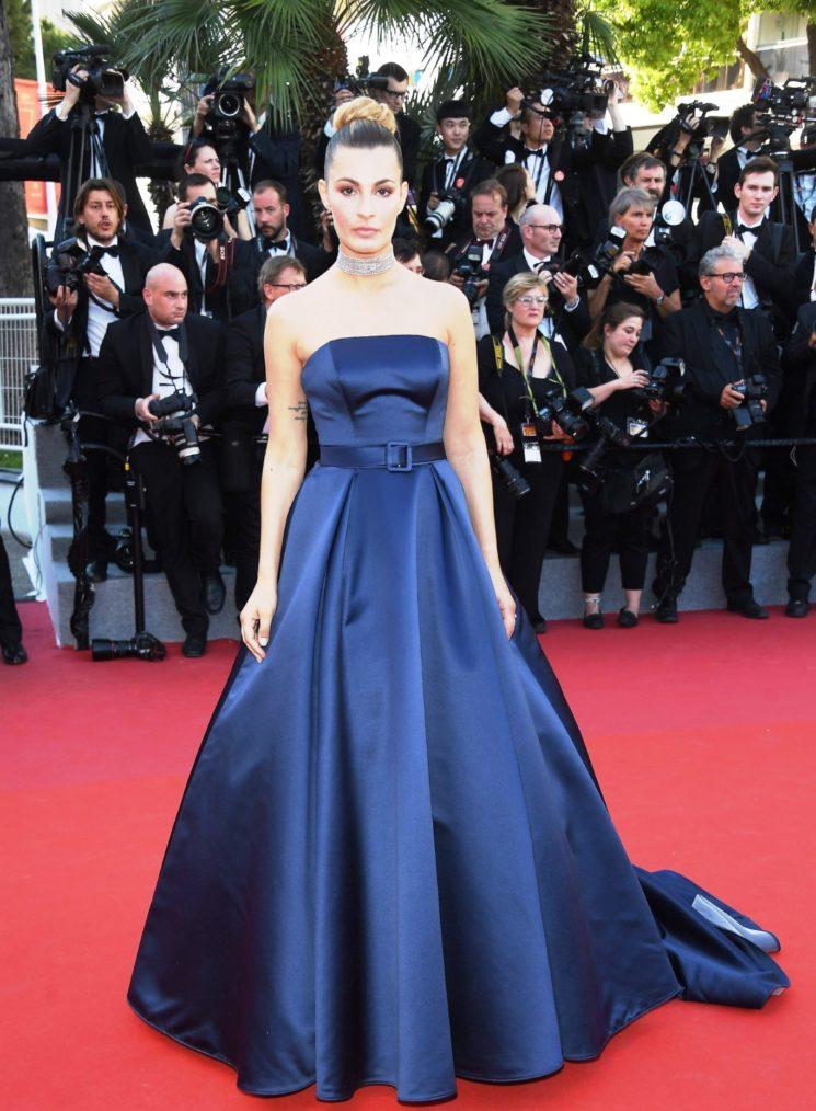 Sveva Alviti in Atelier Emé sul red carpet di Cannes