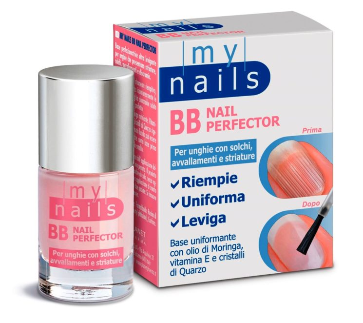 My Nails di Planet Pharma: BB Nail Perfector per unghie con solchi, avvallamenti e striature