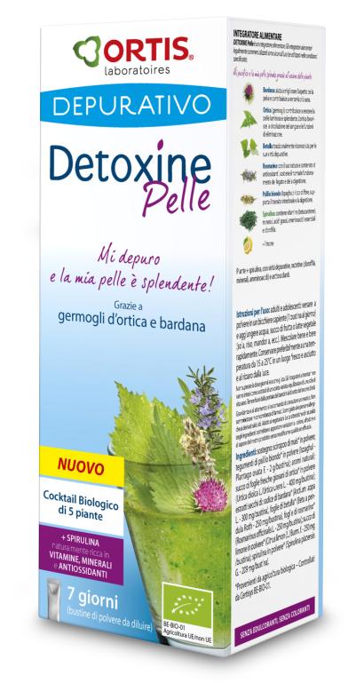 Ortis Laboratoires: Detoxine Pelle per una pelle splendente e curata
