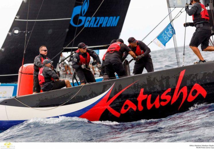 RC44 Porto Cervo Cup: Katusha si porta al comando