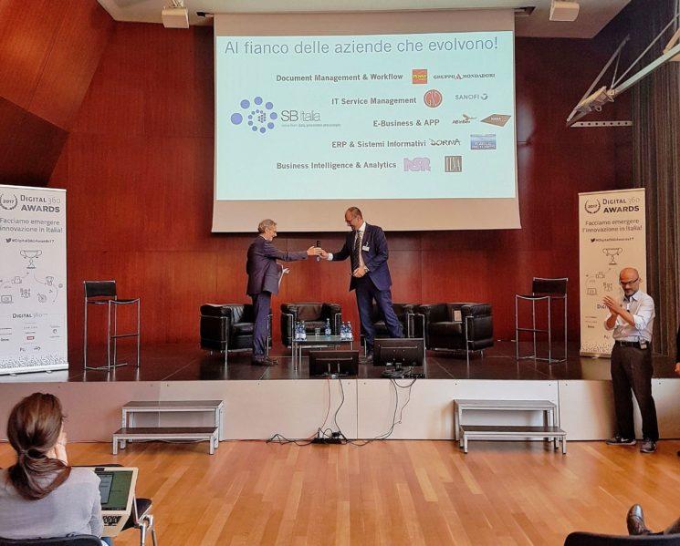 """SB Italia vince il Premio Digital360 Awards con Docsweb per il progetto """"Manpower On Line"""""""