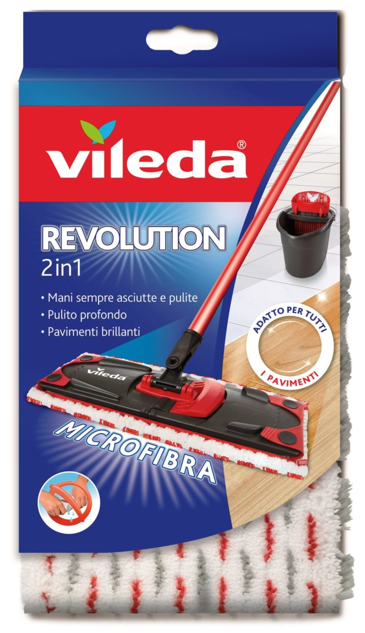 Con Vileda Revolution addio al vecchio spazzolone