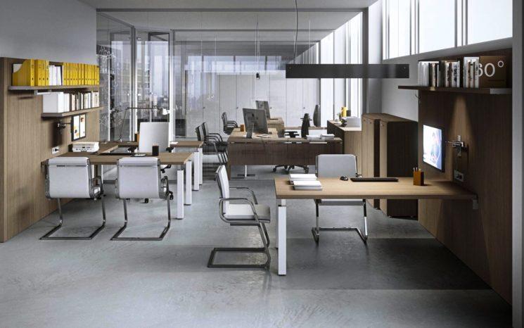 Newform Ufficio: Kamos Plus, eleganza essenziale negli ambienti di lavoro