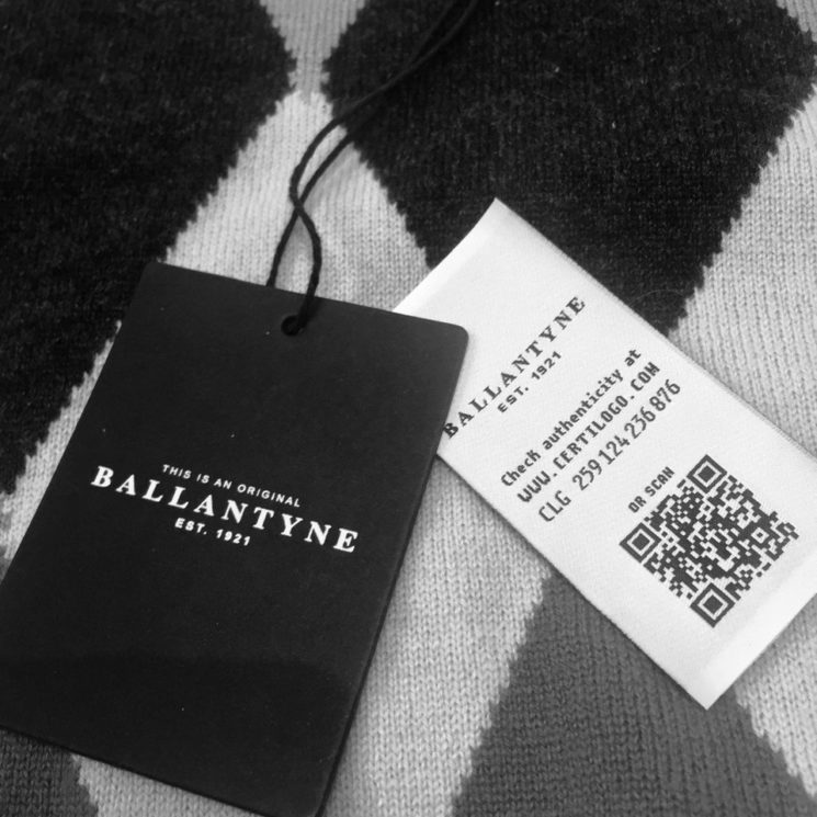Ballantyne sceglie Certilogo per fermare la contraffazione dei suoi prodotti