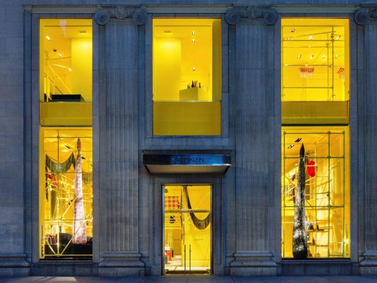 Riapertura del flagship store Calvin Klein in Madison Avenue, NYC