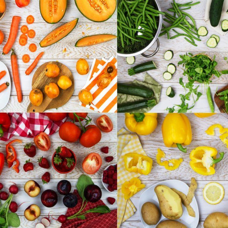 Giallo, arancione, rosso, verde i colori dell'estate