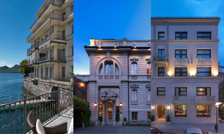 Lario Hotels, Lake Como experience con Vista