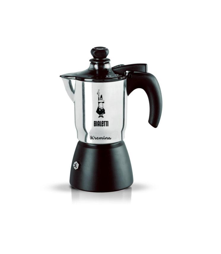 Nuova caffettiera Kremina Bialetti per un caffè con soffice crema vellutata