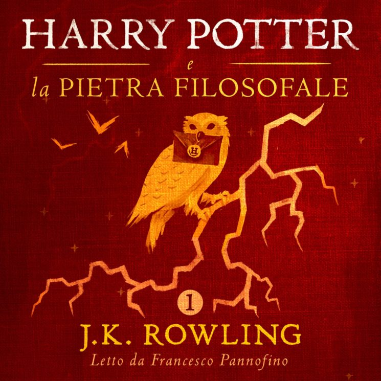 """""""Harry Potter e La Pietra Filosofale"""" in italiano in audiolibro digitale, solo su Audible"""