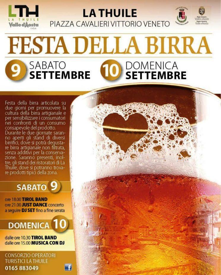 la dieta della festa della birra