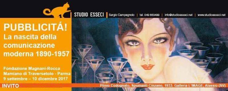 Alla Villa dei Capolavori la grande Mostra sulla storia della Pubblicità in Italia