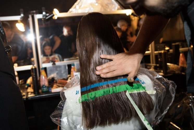 ghd alla Milano Fashion Week: l'hair look della sfilata di Byblos Milano