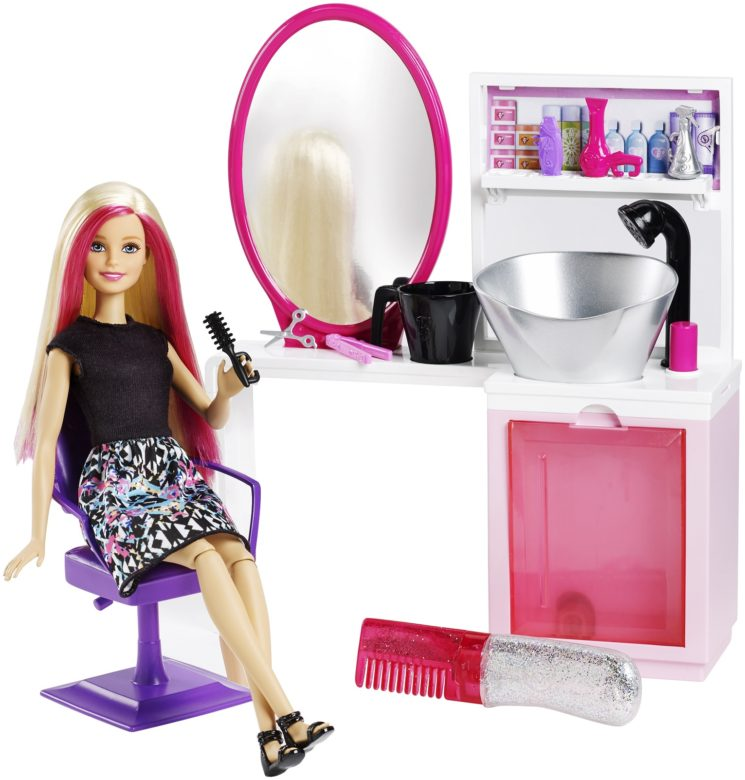 Il mondo di Barbie con tutti i suoi accessori