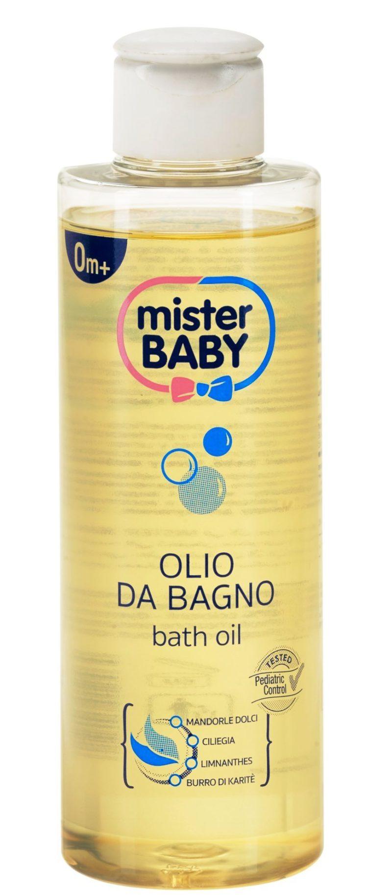 Mister Baby: Protezione e idratazione fin dai primi giorni con Olio da Bagno