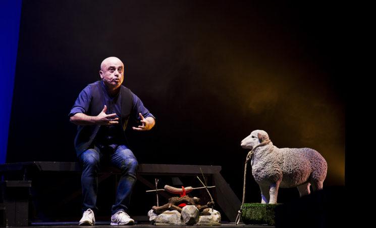 """""""LA BIBBIA – RACCONTATA NEL MODO DI PAOLO CEVOLI"""" il 10 e 11 ottobre 2017 al Teatro Manzoni di Milano"""
