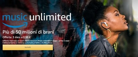Black Friday: anche Amazon Music Unlimited in offerta speciale