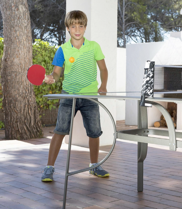 Giocare ovunque a ping pong con Artengo. Conveniente da Decathlon
