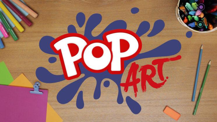 POP Art, la produzione originale POP, sul canale 45 del DTT