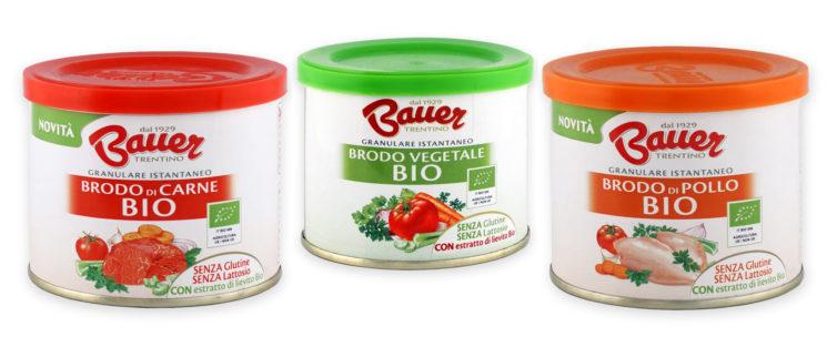Per esaltare i sapori delle pietanze i Granulari BIO di Bauer da agricoltura e allevamento biologici