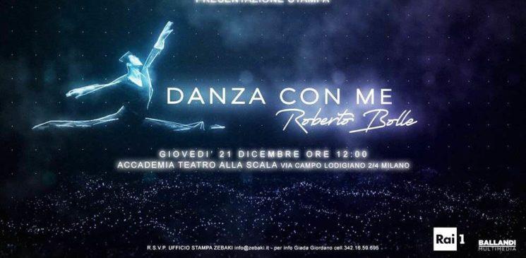 """Roberto Bolle in """"Danza con me"""" su Rai 1 il primo dell'anno"""