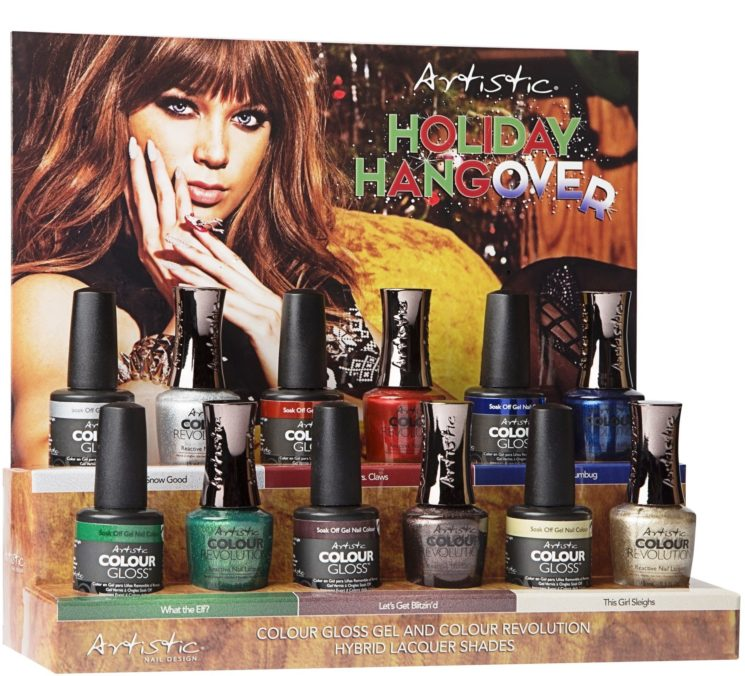 """""""Holiday Hangover"""", la nuova collezione di Artistic Nail Design"""