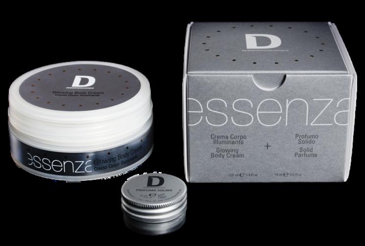 Linea Essenza di Dermophisiologique: Glowing Body Cream, Crema Corpo Illuminante Idratante