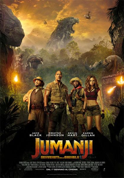 Al via il concorso che vede la Fiorentina promuovere il film Jumanji: Benvenuti nella giungla