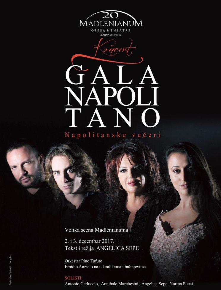 """""""Gala napoletano"""" al Teatro Madlenianum di Belgrado organizzato dai coniugi Madlena e Philip Zepter"""