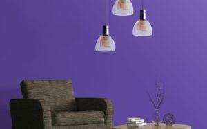 Colore dell'anno Pantone 2018: la casa si veste di Ultra Violet