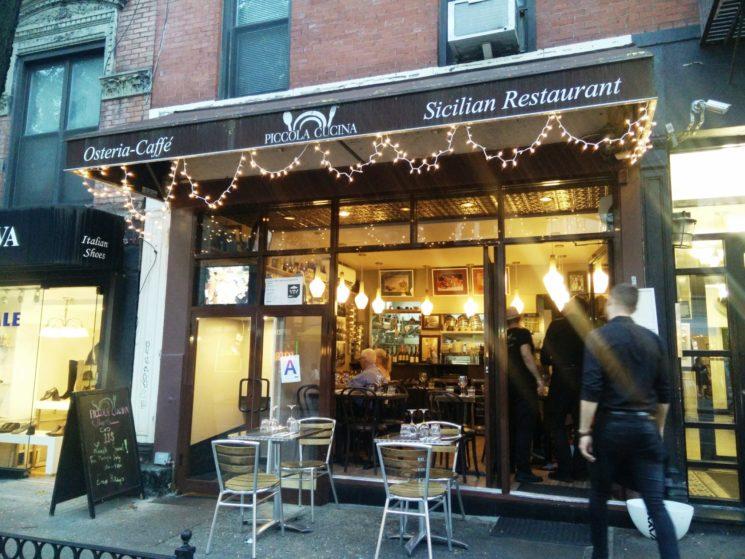 Piccola Cucina Osteria primo ristorante italiano di New York secondo Tripadvisor