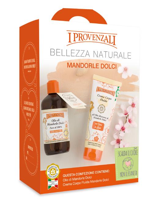I Provenzali: Confezione regalo Linea Mandorle Dolci, il principio attivo prezioso per la pelle