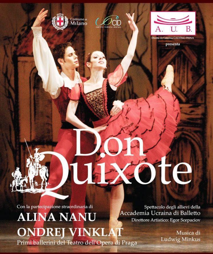 Accademia Ucraina di Balletto: DON QUIXOTE al Teatro degli Arcimboldi di Milano – 19 e 20 gennaio 2018, ore 21.00