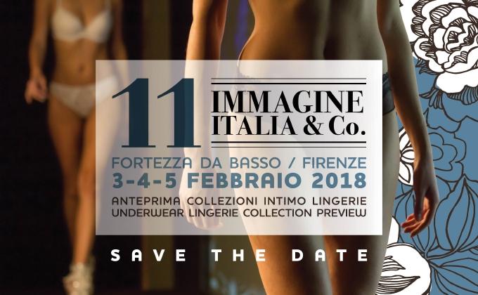 Al via Immagine Italia & Co. 2018 a Firenze dal 3 al 5 febbraio